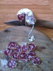 saucisse seche monoprix bio