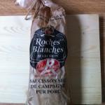 Saucisson sec de campagne Roches Blanches