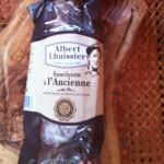 Saucisson sec Albert Lhuissier