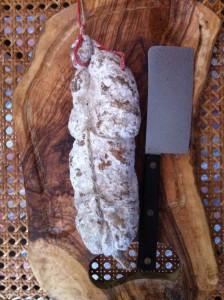 Saucisson petit bridé d'Ardèche Sauss de Terroirs 1