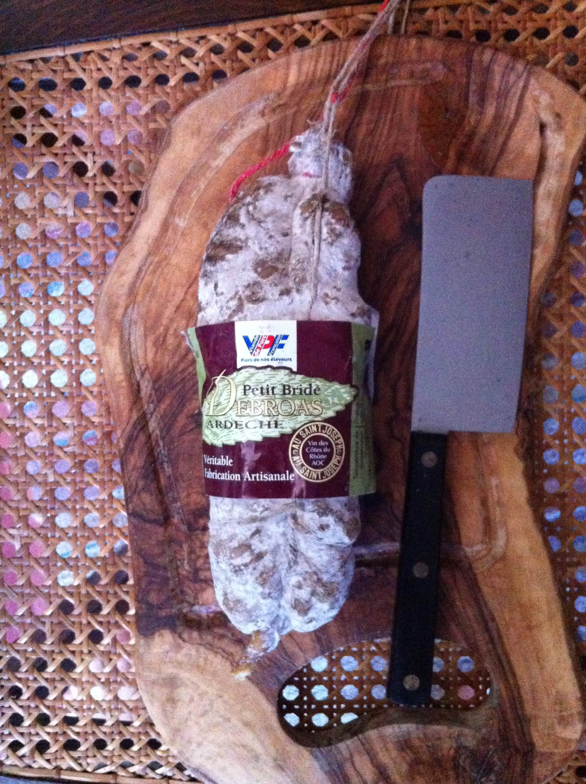 Saucisson petit bridé d'Ardèche Sauss de Terroirs
