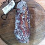 Saucisson au noir de Bigorre de la sté du Porc Noir Tarbes