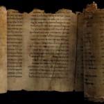 Les premiers manuscrits