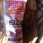 Le saucisson sec 1928 Cochonou