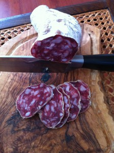 saucisson sec de montagne label rouge U