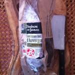 Saucisson sec d'Auvergne Itinéraire des saveurs