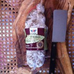 Saucisson artisanal petit bridé d'Ardèche Sauss de Terroirs